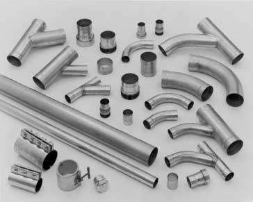 Tubing & Fittings for Vacuum Systems.