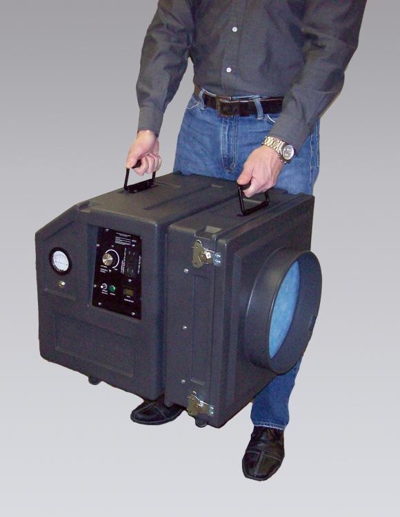 Bronchoscopy Room Design: Negative Air HEPA Scrubbers