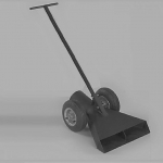 4, 5 OR 6 inch Rock Scoop Cart