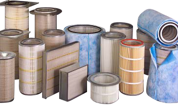 Filters for all brands of industrial vacuum and dust collection equipment